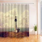 9 Best Lighthouse Shower Curtains - Bath & Shower Covers