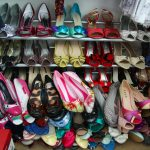 How to organize a shoe closet