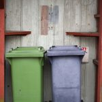 How to keep garbage can from smelling in garage
