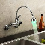 Best wall mount kitchen faucet with sprayer