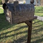 How to install mailbox post without concrete